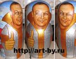 портреты на матрешках в работах художника